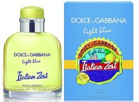 Dolce & Gabbana Light Blue Italian Zest pour homme, 125 ml