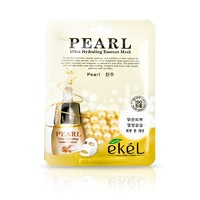 Тканевая маска с жемчугом Ekel Pearl Ultra Hydrating Essence Mask