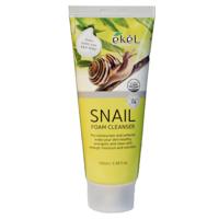 Очищающая пенка с экстрактом секрета улитки Ekel Snail Foam Cleanser,100ml