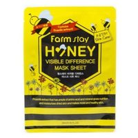 Тканевая маска для лица с медом и прополисом FarmStay Honey