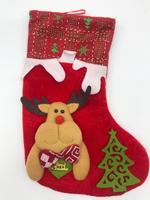 Рождественский носок для подарков (в ассортименте).