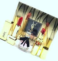 Подарочный набор Yves Saint Laurent 3в1(парфюм+2помады).