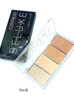 Палетка хайлайтеров Catrice Cosmetics Deluxe Glow Higlighter ,4цв