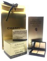 Подарочный набор кремов Chanel Sublimage 3 в 1 + (пудра)