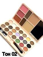 Палетка KKW Travel Pact Matte Eye Shadow,Eye Brow, Blush, Powder