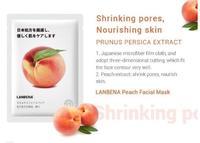 Тканевая маска для лица Lanbena  - Персик