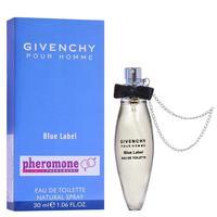 Мини-парфюм с феромонами 30ml Givenchy Blue Label Pour Homme