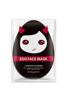 Тканевая Маска Bioaqua Egg Face Mask Small Eggs Clean And Moist Black Mask Paste,30g