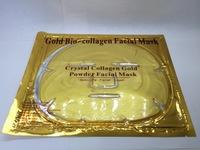 Маска для лица Gold Bio-collagen Facial Mask (золотая)