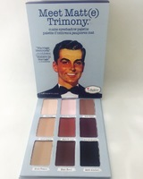 Палитра теней для век Meet Matt(e) Trimony Eyeshadow