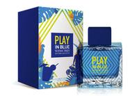 Antonio Banderas Play In Blue Seduction for Men