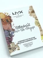 "Палетка Nyx ""wanderlust envie de voyager"" тон А"
