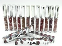"Жидкие помады Kylie ""Holiday Edition"" 12цв.(metal+matte)"