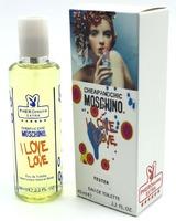 Мини-парфюм 65 ml с феромонами  Moschino Cheap and Chic I Love Love