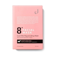 Тканевая Омолаживающая маска для лица 8+Facial Mask Goat Milk Rejuvenating Mask.