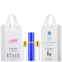 Набор с феромонами 3х15 Dolce & Gabbana Light Blue pour femme