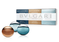 Подарочный набор BVLGARI The Aqva Pocket Spray Collection, 3 x 15 ml