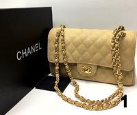 Сумка Lux Chanel 25х15см Натуральная Кожа