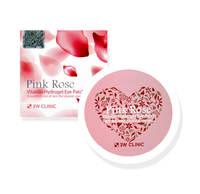 Гидрогелевые патчи для век с экстрактом розы 3W Clinic Pink Rose Vitamin Hydrogel Eye Patch