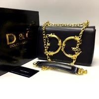 Сумка Lux Dolce&Gabbana 22х14см -Натуральная Кожа