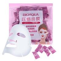Прессованная маска для лица Bioaqua Compressed Facial Mask,(50шт)