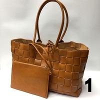 Сумка Lux Bottega Veneta 40 х 24см Натуральная кожа