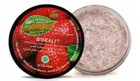 Крем-скраб для тела Wokali Strawberry,300ml