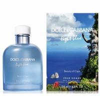 Dolce & Gabbana LIGHT BLUE BEAUTY OF CAPRI EDT (M) 125 МЛ