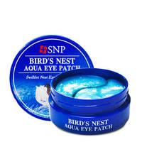 Гидрогелевые патчи для глаз с экстрактом ласточкиного гнезда SNP Bird's Nest Eye Patch,60шт