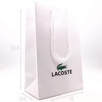 Брендовый пакет Lacoste мал. (23,5 х 15 х 8,5)