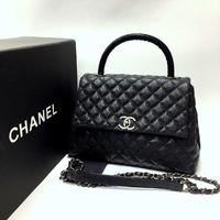 Сумка Lux Chanel 30х20 см Натуральная Кожа