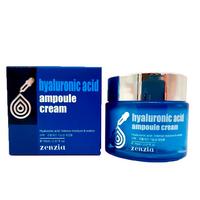 Крем для лица с гиалуроновой кислотой Zenzia Hyaluronic Acid Ampoule Cream,70ml