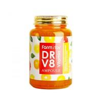 Многофункциональная ампульная сыворотка с витаминным комплексом Farmstay DR-V8 Vitamin Ampoule,250ml