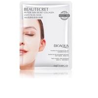 BIOAQUA Beautecret Peptide Skin Secret Collagen Lady Facial Mask Набор 4шт.х28гр