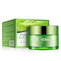 BioAqua Освежающий и увлажняющий крем-гель для лица и шеи Aloe Vera, 50гр