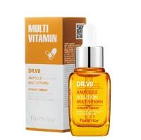 FarmStay Dr. V8 Ampoule Solution Multi Vitamin Сыворотка для лица ативозрастная и отбеливающая