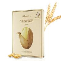 Тканевая маска с минералами и экстрактом риса JM Solution Lacto Saccharomyces Golden Rice Mask
