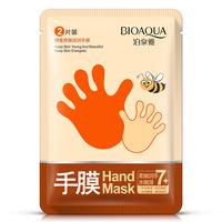 Маска перчатки для рук с медом Bioaqua Hand Mask 1 пара