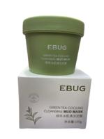 Очищающая грязевая маска EBUG Green Tea Cooling Mud Mask с экстрактом зеленого чая