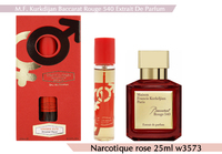 NROTICuERSe 25 ml W 3573 (Baccarat Rouge 540 Extrait)