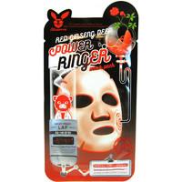 Регенерирующая тканевая маска Elizavecca для лица с экстрактом красного женьшеня Red Ginseng Deep Power Ringer Mask Pack