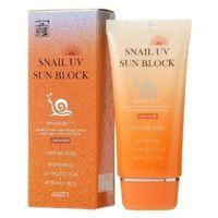 Солнцезащитный крем с улиточным муцином JIGOTT Snail Uv Sun Block Cream SPF50+/PA+++