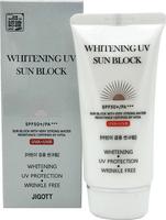 Jigott Whitening UV Sun Block Cream Солнцезащитный осветляющий крем для лица с антивозрастным эффектом