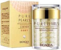 BIOAQUA Увлажняющий крем с натуральной жемчужной пудрой Pure Pearls, 60гр