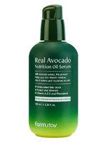 Питательная сыворотка с маслом авокадо FarmStay Real Avocado Nutrition Oil Serum,100ml