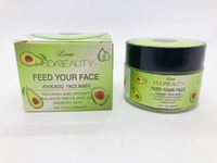 Маска для лица мороженное Huda Beauty Love Avocado Face Mask 30мл