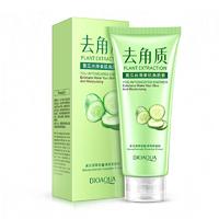 Гель-скатка для лица BioAqua Plant Extraction You Intoxicated Shower Exfoliator Cucumber