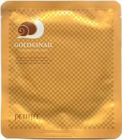Маска с экстрактом слизи улитки Petitfee Gold Snail Mask Pack.