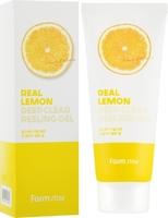Пилинг-гель FarmStay Real Lemon Deep Clear Peeling Gel