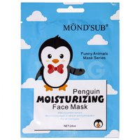 Маска для лица Mond'Sub тканевая Увлажняющая Пингвин